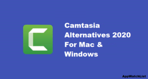 Camtasia Alternatives 2020 For Mac & Windows