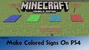 Minecraft Color Codes