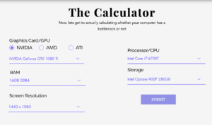 Bottleneck Calculator